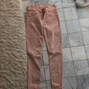 Light pink Hudson jeans